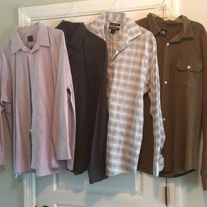 Other - 4 Men's Button down shirts